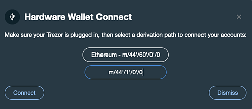 Onboard.js Supports Custom Derivation Paths