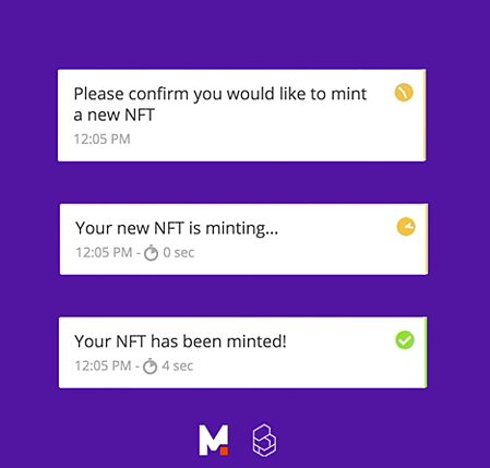 Mintable Custom Notifications